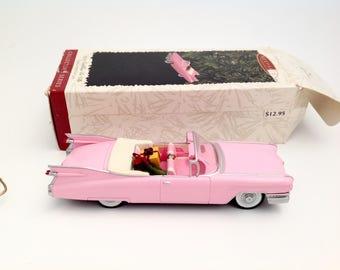 Vintage Pink Cadillac De Ville - Prince Remembered - Hallmark Ornament 1996 - Classic American Car - Prince Pink Cadillac - Pink Car