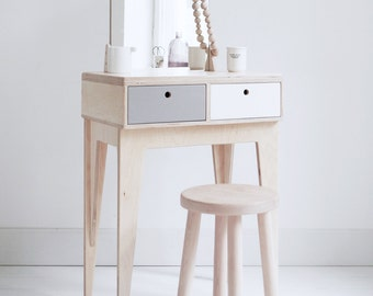 RUNO customized plywood handmade dressing table / scandinavian design // gifts for her / bridesmaid gift