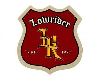 Lowrider Roadsign