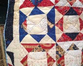 Quilted table topper or wall hanging - very versatile!