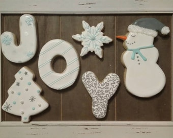 Snowmen Joy !  One Dozen