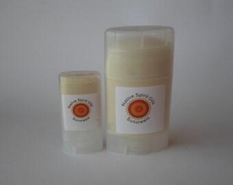 Organic sunscreen