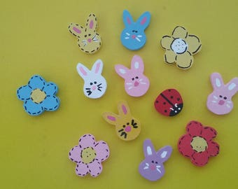 Tiny Easter decorations