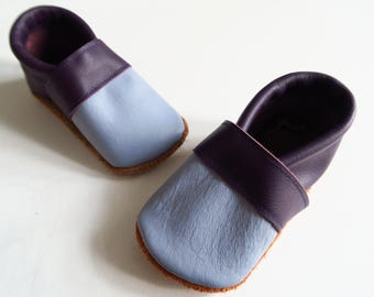 Leather baby shoes size 20 (chromium-free)