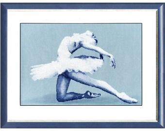 Cross Stitch Kit Ballet dancer