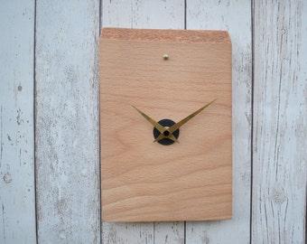 Wall Clock, Wooden Clock, Handmade Clock, Clock, Small Wall Clock, Wood Clock, Modern Wood Clock, Handmade Clock, Rustic Clock, Clock