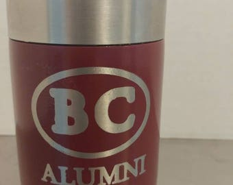 Stainless steel bc (Benedictine military school) can cooler
