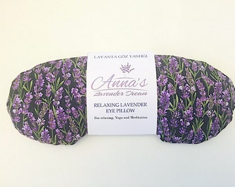 Relaxing Lavender Eye Pillow - Lavender in Night