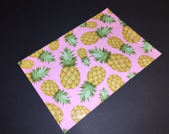 25 Designer PINEAPPLE Poly Mailers 10x13 Envelopes Shipping Bags