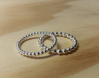 DR' / Ring / Silver / Sterling Silver / Gift