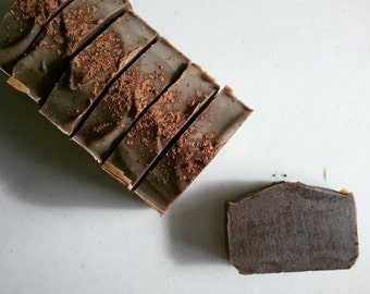 Coffee Bean + Cocoa ~ Shea Butter Soap