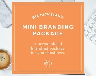 Custom Mini Branding Suite - | Branding Package | Logo Design | Custom | Graphic Design | OOAK Logo | Business Branding