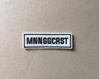 Mnnggcrst Sew On Patch