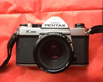 Pentax K1000 Asahi tested and serviced