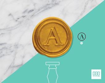 Headline Letters - Design OD Wax Seal Stamp (DODWS0105)