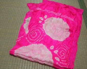 Pink hekoobi / obi belt for kimono / scarf