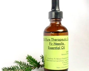 Fir Needle essential oil for therapeutic use 60ml