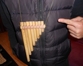 small pan pipe,(natural color), panflute