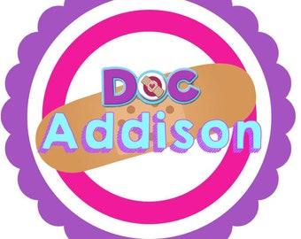 Doc McStuffins Iron On Design