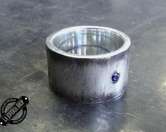.925 Silver mens ring