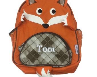 Personalised Fox Toddler Backapack