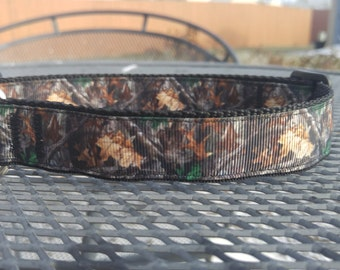 Camo hunting dog collar