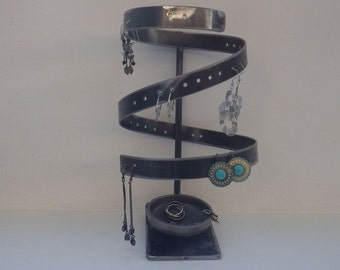 Display earrings Stand storage and organization earrings Steel rack for earrings and jewelry