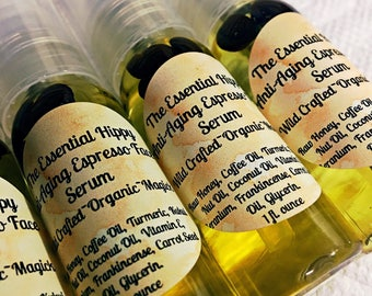 Anti-Aging Espresso Face Serum ~ Wildcrafted ~ Organic ~ Magick ~