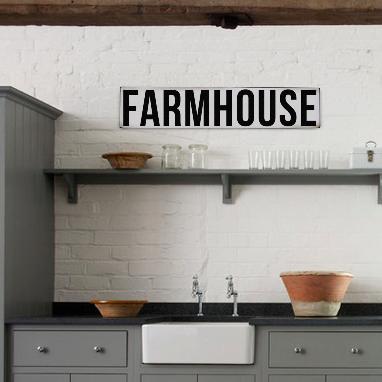 Bauernhof Schild rustikale Vintage inspirierte Zeichen