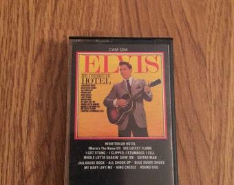 Vintage Elvis Presley Heartbreak Hotel Cassette Tape