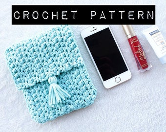 CROCHET PATTERN//Victoria Clutch Pattern/crochet purse/handbag