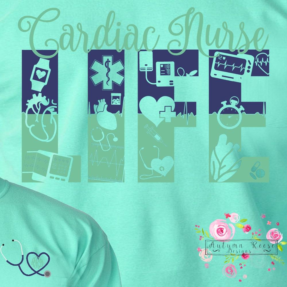 Cardiac Care Nurse Cardiac Care CCU Nursing Monogrammed Exclusive ...