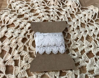 Dainty lace trim