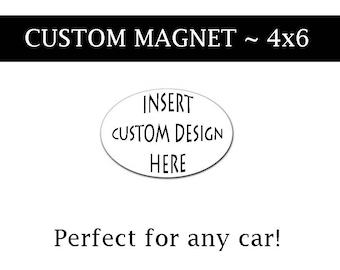 Car Magnets Etsy - Custom car magnets canada