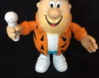 Vintage Fred Flintstone Character Toy