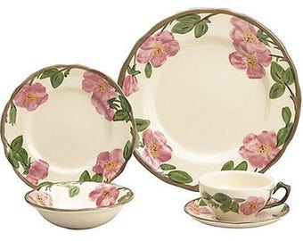 CLEARANCE, Franciscan Desert Rose dinnerware 18 pieces price drop