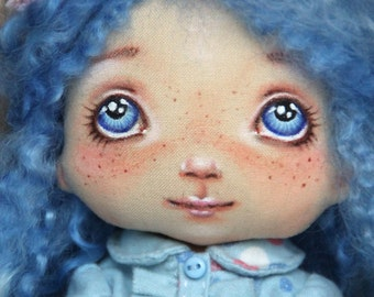 "Art Doll ""Melody"", series ""toddler"" 11 zoll, handmade"