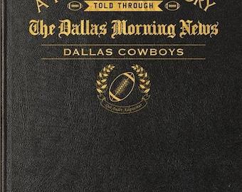 Dallas Morning News Dallas Cowboys Football Book - Leather