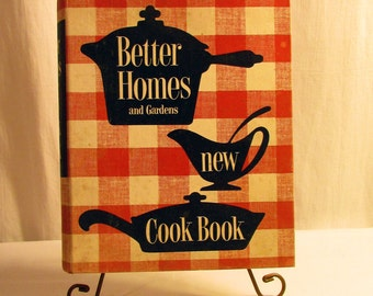 1953 Better Homes and Garden Cookbook//First Edition, Fifth Printing//Collectible Cookbook//Vintage Cookbook
