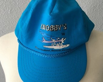 1996 Sioux Lookout Ontario Canada Vintage Vintage Knobby's Hat