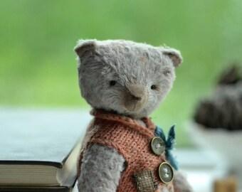 Teddy beartoy artist teddy Frol Stuffed toy handmade teddy to order