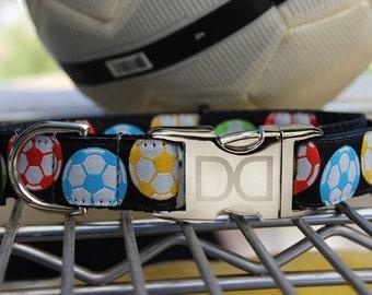 Soccer Ball Dog Collars