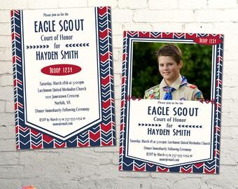 Arrows Eagle Scout Invitation