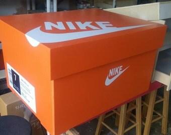NIKE ORANGE SWOOSH shipping included!! Sale