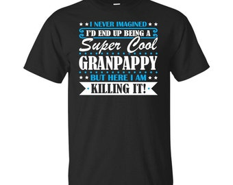 Granpappy, Granpappy Gifts, Granpappy Shirt, Super Cool Granpappy, Gifts For Granpappy, Granpappy Tshirt