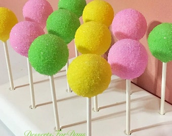1dz. Pastel Themed Cake Pops. Made with High Quality Ingredients! Dessert Table. Party Favors.