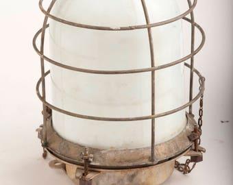 Ship Light Vintage Salvaged