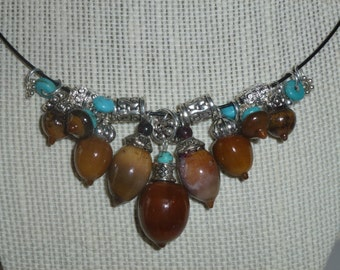 Acorn Necklace #33