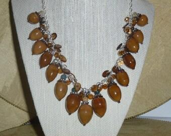 Acorn Necklace #123