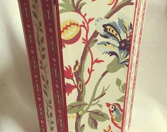 Paper basket, wastepaper basket, decorative basket,
